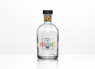 botella reverso